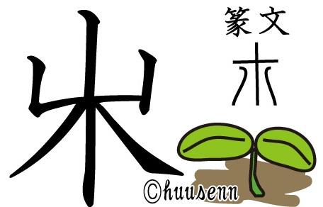 けら 漢字 こ