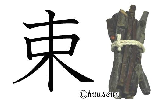 漢字の覚え方 束: 風船あられの...