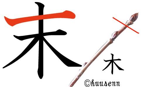 漢字の覚え方 末: 風船あられの漢字ブログ