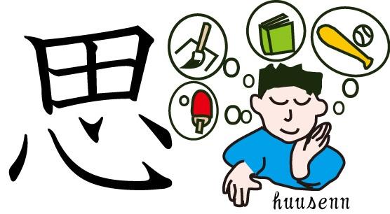 漢字の覚え方 囟(田): 風船あられの漢字ブログ