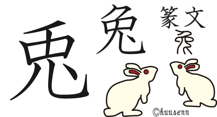 うさぎ 漢字
